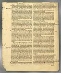 Coverdale Bible Page, printed 1551