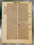 Matthews Bible Page, printed 1537