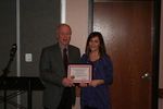 Centennial Library Certificate of Recognition for Distinctive Service Recipient: Sharon Kerestes by Cedarville University