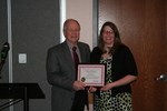 Centennial Library Certificate of Recognition for Distinctive Service Recipient: Lori Myers by Cedarville University