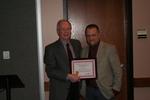 Centennial Library Certificate of Recognition for Distinctive Service Recipient: Joe Fox by Cedarville University