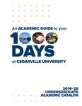 Academic Catalogs by Cedarville University
