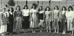 1990-1991 Softball Team