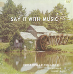Say It with Music by Cedarville College