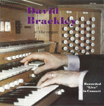 David Brackley at the Organ by Cedarville College