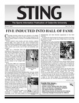 The Sting: Winter 2003 by Cedarville University