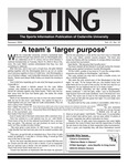 The Sting: Summer 2004 by Cedarville University
