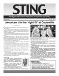 The Sting: Winter 2008 by Cedarville University