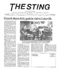 The Sting: Winter 1988 by Cedarville College