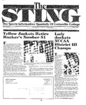 The Sting: Spring 1994 by Cedarville College