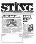 The Sting: Summer 1994 by Cedarville College