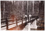 Bridge in John Bryan State Park over the Little Miami River by Cedarville University