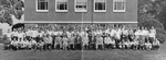 Cedarville College Students and Faculty, 1955-1956