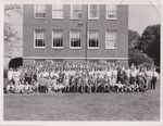 Cedarville College Students and Faculty, 1956-1957
