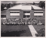 Cedarville College Students and Faculty, 1963-1964