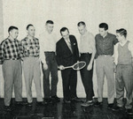 1956-1957 Men's Tennis Team