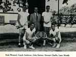 1957-1958 Men's Tennis Team