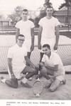 1961-1962 Men's Tennis Team