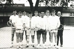 1967-1968 Men's Tennis Team