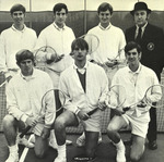 1970-1971 Men's Tennis Team