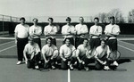 1997-1998 Men's Tennis Team