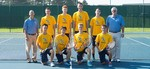 2014-2015 Men's Tennis Team