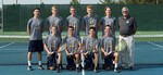 2015-2016 Men's Tennis Team