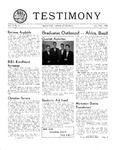 Testimony, January/February 1952