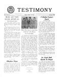 Testimony, January 1953