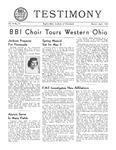 Testimony, March/April 1951