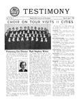 Testimony, March/April 1952