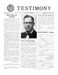 Testimony, September/October 1952
