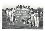 1985 NCCAA National Women's Track Champions by Cedarville University