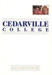 1988 View Book by Cedarville College