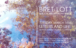 Bret Lott - Letters and Life: On Being a Writer, On Being a Christian by Cedarville University