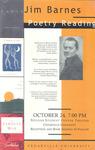 Jim Barnes: Poetry Reading