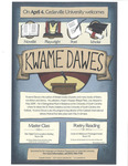 Master Class and Poetry Reading: Kwame Dawes by Cedarville University