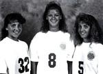 Angela Hartman, Amy Zehr, Melissa Hartman by Cedarville College