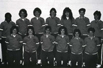1986-1987 Women's Basketball Team