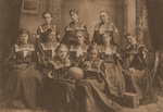 1898-1899 Women's Basketball Team by Cedarville College