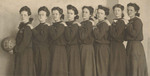 1905-1906 Women's Basketball Team by Cedarville College