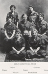 1914-1915 Women's Basketball Team by Cedarville College