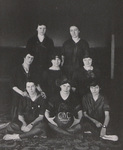 1916-1917 Women's Basketball Team by Cedarville College