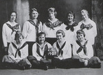 1919-1920 Women's Basketball Team by Cedarville College