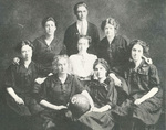 1910-1911 Women's Basketball Team by Cedarville College