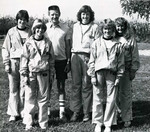 1982-1983 Women's Cross Country Team by Cedarville College