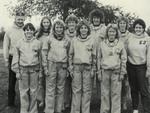 1983-1984 Women's Cross Country Team by Cedarville College