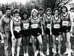 1986-1987 Women's Cross Country Team