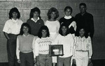 1987-1988 Women's Cross Country Team by Cedarville College