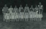 1997 Women's Cross Country Team by Cedarville College